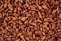 Δημητριακά σοκολάτας backrgound Στοκ Φωτογραφίες