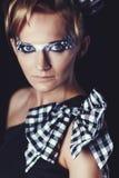 δημιουργική γυναικεία &beta Στοκ Φωτογραφίες