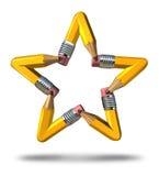 Δημιουργικό αστέρι Στοκ Εικόνες