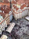 Δημοκρατία της Τσεχίας, Πράγα, παλαιά πλατεία της πόλης Στοκ φωτογραφίες με δικαίωμα ελεύθερης χρήσης