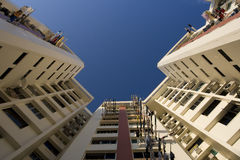δημόσια άνοδος Σινγκαπού& Στοκ Εικόνες