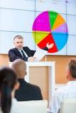 Δημόσιος ομιλητής Στοκ εικόνα με δικαίωμα ελεύθερης χρήσης