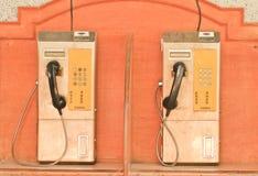 Δημόσιο τηλέφωνο Στοκ Εικόνες