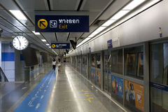Δημόσιο trasport της Μπανγκόκ Στοκ φωτογραφία με δικαίωμα ελεύθερης χρήσης