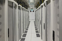 Διάβαση πεζών DataCentre Στοκ Εικόνα