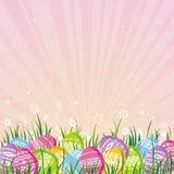 διάνυσμα αυγών Πάσχας χρώμα Στοκ εικόνες με δικαίωμα ελεύθερης χρήσης