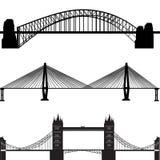 διάνυσμα γεφυρών Στοκ Φωτογραφία
