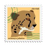 διάνυσμα γραμματοσήμων τσ Στοκ Φωτογραφίες