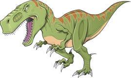 Διάνυσμα δεινοσαύρων τυραννοσαύρων Στοκ εικόνα με δικαίωμα ελεύθερης χρήσης