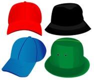 διάνυσμα καπέλων Στοκ Εικόνα