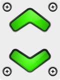 Διάνυσμα κουμπιών Στοκ Εικόνα