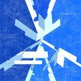 Διάνυσμα δομών δικτύου καλωδίων μωσαϊκών Στοκ Εικόνες
