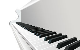 διάνυσμα πιάνων Στοκ Φωτογραφία