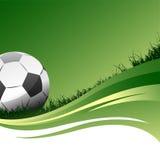 διάνυσμα ποδοσφαίρου Στοκ εικόνες με δικαίωμα ελεύθερης χρήσης