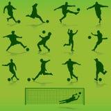 διάνυσμα ποδοσφαίρου Στοκ Εικόνες