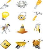 διάνυσμα σημαδιών κατασκ&e Στοκ φωτογραφίες με δικαίωμα ελεύθερης χρήσης