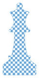 διάνυσμα σκακιού Στοκ Φωτογραφία