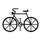 Διάνυσμα συμβόλων ποδηλάτων Στοκ εικόνες με δικαίωμα ελεύθερης χρήσης