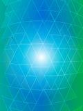 Διάνυσμα του gardient πολύχρωμου υποβάθρου τριγώνων Στοκ φωτογραφία με δικαίωμα ελεύθερης χρήσης