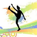 διάνυσμα χορού Στοκ Εικόνες