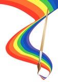 διάνυσμα χρώματος βουρτ&sigm Στοκ Εικόνες