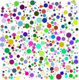 διάνυσμα χρώματος φυσαλίδων Στοκ φωτογραφίες με δικαίωμα ελεύθερης χρήσης