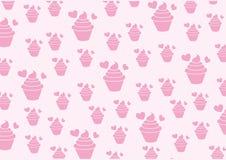 Διάνυσμα cupcakes Στοκ Εικόνες