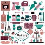 Διάνυσμα illustratuon του αρτοποιείου Στοκ Εικόνες