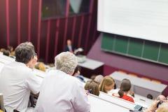 Διάλεξη στο πανεπιστήμιο Στοκ εικόνα με δικαίωμα ελεύθερης χρήσης