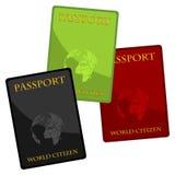διαβατήρια Στοκ φωτογραφίες με δικαίωμα ελεύθερης χρήσης