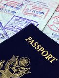διαβατήριο Στοκ φωτογραφίες με δικαίωμα ελεύθερης χρήσης