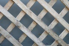 Διαγώνιος ξύλινος φραγμός Στοκ Εικόνες