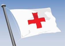 διαγώνιο κόκκινο Στοκ φωτογραφίες με δικαίωμα ελεύθερης χρήσης