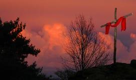 διαγώνιο λινό ερυθρό Στοκ εικόνες με δικαίωμα ελεύθερης χρήσης