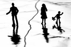 διαζύγιο επίπονο Στοκ Εικόνες