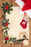 διακοπές δώρων Παραμονής Χριστουγέννων πολλές διακοσμήσεις Στοκ εικόνες με δικαίωμα ελεύθερης χρήσης