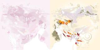 διακοσμητικά κορίτσια Στοκ φωτογραφίες με δικαίωμα ελεύθερης χρήσης