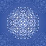 διακοσμητικός κύκλος προτύπων δαντελλών Στοκ Εικόνα