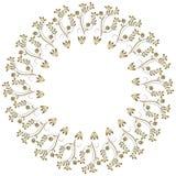 διακοσμητικός κύκλος π&lamb Στοκ φωτογραφίες με δικαίωμα ελεύθερης χρήσης