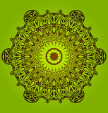 διακοσμητικός κύκλος διακοσμήσεων δαντελλών κύκλων Στοκ Εικόνα