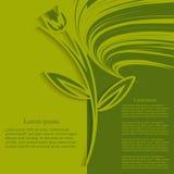Διακοσμητικό αφηρημένο υπόβαθρο-λουλούδι applique Στοκ εικόνες με δικαίωμα ελεύθερης χρήσης