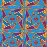 Διακοσμητικό βασιλικό σχέδιο Seamlessbeautiful Στοκ Εικόνα