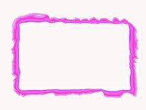 διακοσμητικό ροζ συνόρων Στοκ Φωτογραφίες