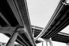 διακρατικό overpass Στοκ εικόνα με δικαίωμα ελεύθερης χρήσης