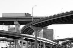 διακρατικό overpass Στοκ Φωτογραφίες