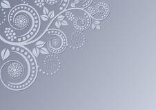 διακόσμηση ανασκόπησης floral Στοκ Φωτογραφίες