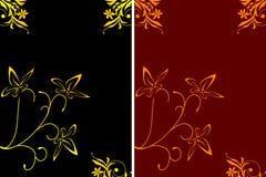διακόσμηση εμβλημάτων floral Στοκ φωτογραφίες με δικαίωμα ελεύθερης χρήσης