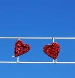 Διακόσμηση καρδιών Στοκ Φωτογραφίες