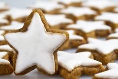 Διακόσμηση μπισκότων Στοκ φωτογραφία με δικαίωμα ελεύθερης χρήσης