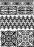 Διακόσμηση του Καζάκου Στοκ εικόνα με δικαίωμα ελεύθερης χρήσης